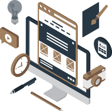 website redesign company services